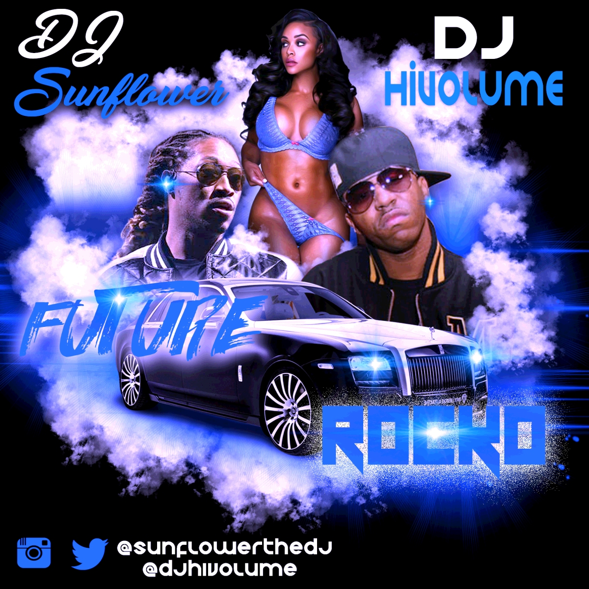 FUTURE VS ROCKO @SUNFLOWERTHEDJ @DJHIVOLUME