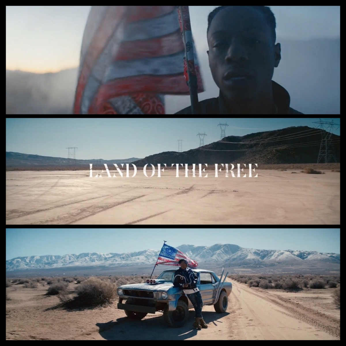 "JOEY BADA$$ ""LAND OF THE FREE"" 